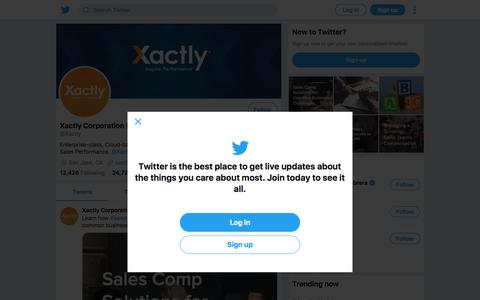 Tweets by Xactly Corporation (@Xactly) – Twitter
