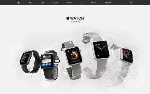 Screenshot of Home Page apple.com - Apple - captured Nov. 10, 2016