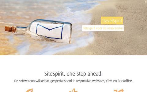 Screenshot of Support Page spierings-fotografie.nl - SiteSpirit, one step ahead! De softwareontwikkelaar, gespecialiseerd in responsive websites, CRM en Backoffice. - captured Aug. 15, 2016