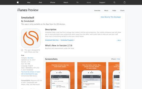 Smokeball on the App Store