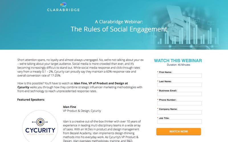 Webinar: The Rules of Social Engagement