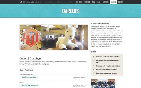 Careers - Classy Llama