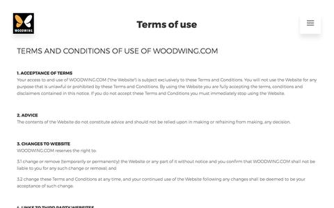 Terms of use | WoodWing Software