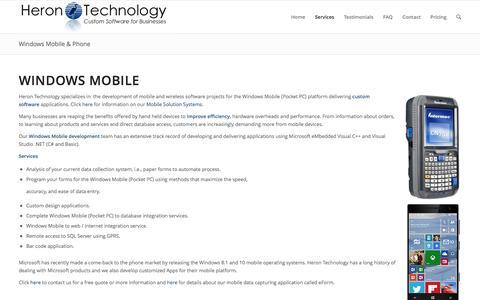 Windows Mobile & Phone