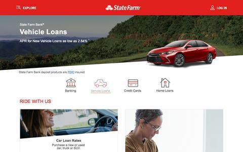 Car Loans & Auto Loan Rates - State Farm Bank®