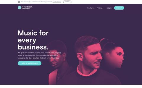 Soundtrack Business | Commercial background music | Soundtrack Your Brand