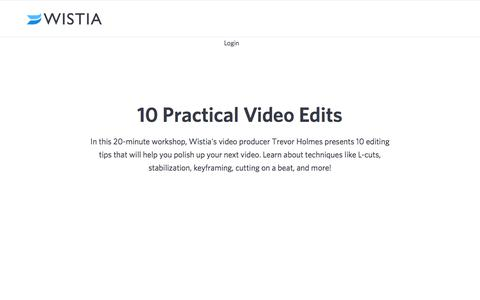 10 Practical Video Editing Tips to Polish up Your Video