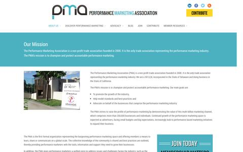 Screenshot of About Page thepma.org - About Us | The PMA - captured Sept. 23, 2014