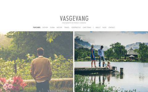 Screenshot of Home Page vasgevang.co.za - VASGEVANG - captured Sept. 30, 2014