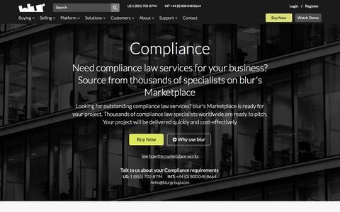 Business Compliance Law | blur Group