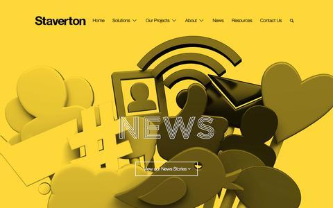 Screenshot of Press Page staverton.co.uk - News - Staverton - captured Sept. 29, 2018
