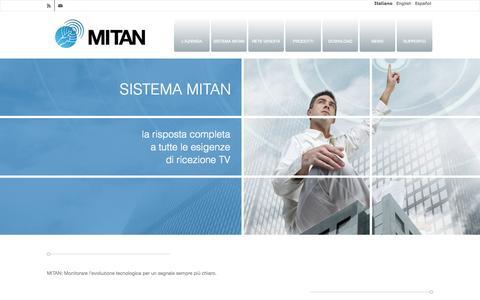 Screenshot of Home Page mitan.info - Mitan | Antenne - captured Oct. 6, 2014