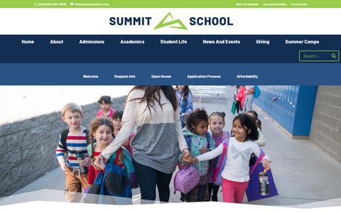 Screenshot of Testimonials Page summitschoolaz.org - Testimonials | Summit School - captured May 29, 2019