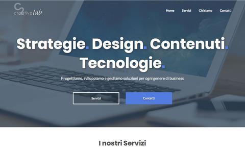 Screenshot of Blog c2lab.net - C2 Creative Lab – Web Design, Grafica e Fotografia - captured Aug. 12, 2019
