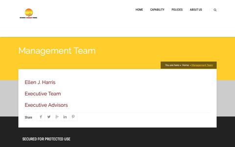 Screenshot of About Page business-accelerated.com - Management Team | Business-Accelerated® - captured Dec. 19, 2018