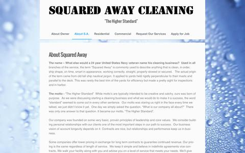 About Squared Away - Squared Away Cleaning