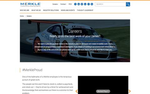 Merkle Careers - Top Marketing Jobs for Top Minds | Merkle