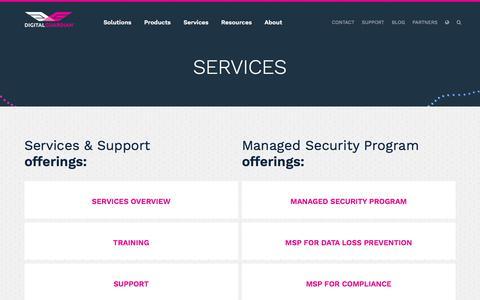 Services | Digital Guardian