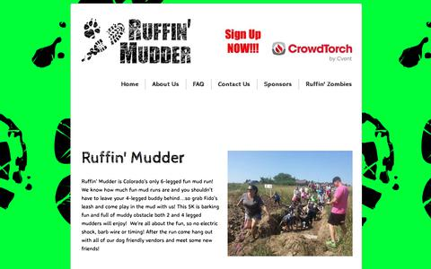 Screenshot of About Page ruffinmudder.com - About Us - captured June 15, 2017