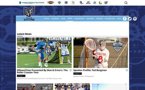 Screenshot of Press Page theohiomachine.com - Ohio Machine News Hub | Ohio Machine - captured Oct. 18, 2018