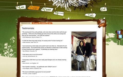 Screenshot of Testimonials Page 4-rth.com - Customer Testimonials and Yoga Reviews - captured Oct. 27, 2014