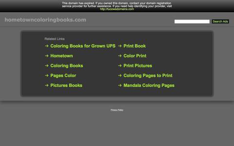 Hometowncoloringbooks.com