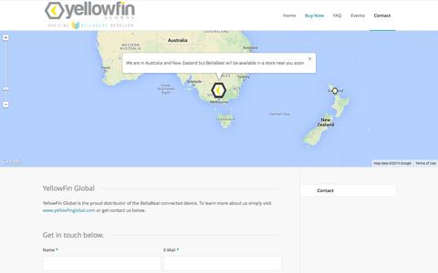 Screenshot of Contact Page bellabeat.com.au - Contact Bellabeat - captured Nov. 5, 2014