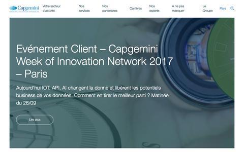 Screenshot of capgemini.com - Capgemini France - captured Sept. 4, 2017