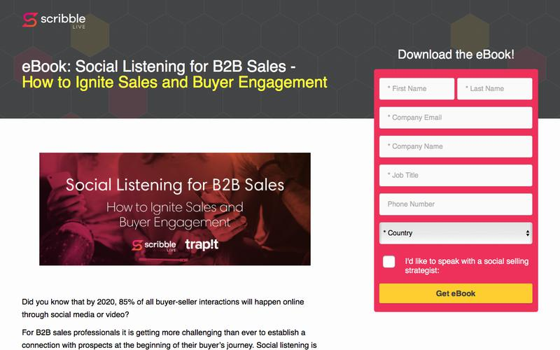 Social Listening for B2B Sales: How to Ignite Sales and Buyer Engagement