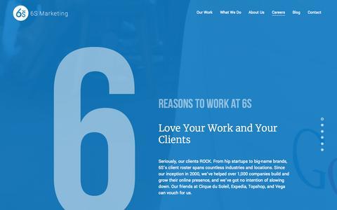 Digital Marketing Careers   6S Marketing