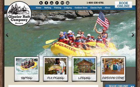Screenshot of FAQ Page glacierraftco.com - FAQ | Glacier National Park Activities | Glacier Raft Company - captured July 4, 2015
