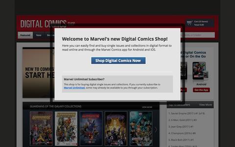 Digital Comics - Marvel Comics