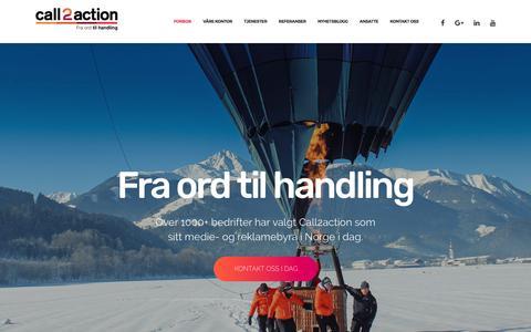 Forside - Call2action Stavanger AS