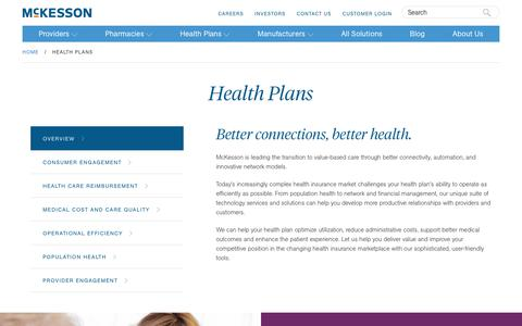Healthcare Payer Solutions & Software | McKesson