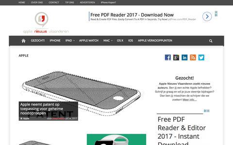 Apple Archieven | Apple Nieuws Vlaanderen