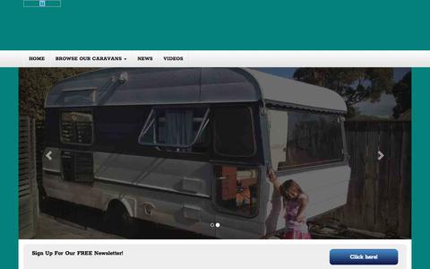 Screenshot of Home Page thecaravanshop.com.au - Thecaravanshop | Just another WordPress site - captured June 16, 2017