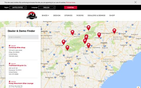 Dealer Finder | Rocky Mountain Bicycles