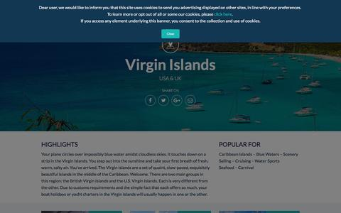 Sailing Yacht Charters in the Virgin Islands | Antlos