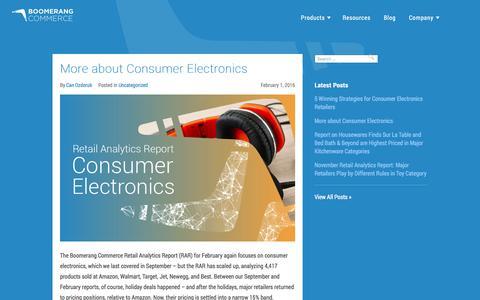 Screenshot of boomerangcommerce.com - Boomerang Commerce - captured March 19, 2016
