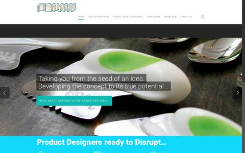 Screenshot of Home Page flynn-product-design.com - Product Designers, Product Design Company & Product Design Consultancy : FLYNN - captured Aug. 16, 2018
