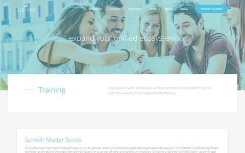 Sprinklr Training   Social Media Management System (SMMS)