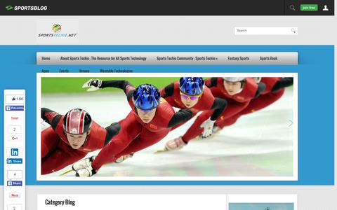 Screenshot of Blog sportstechie.net - Blog | Sports  Techie - captured Feb. 27, 2016