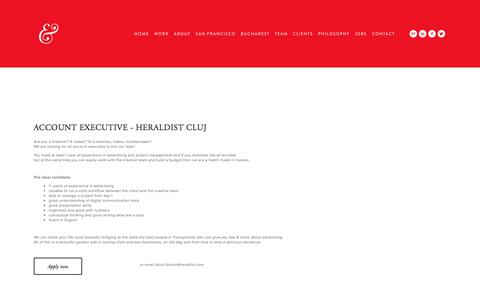 Screenshot of Jobs Page heraldist.com - Jobs — Heraldist & Wondermarks - captured July 18, 2018