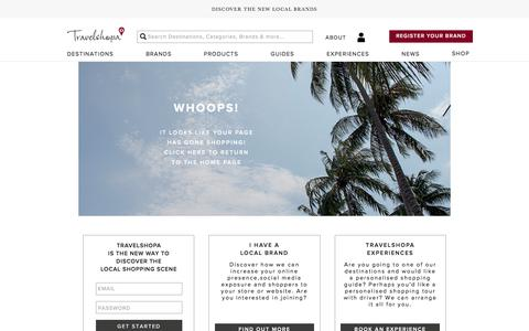 Travelshopa | The new way to discover the local shopping scene