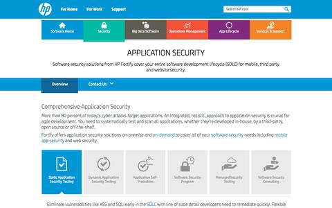 Screenshot of Blog hp.com - Application Security Software Solutions: SDLC, Web & Mobile | HP® Official Site - captured Oct. 10, 2015