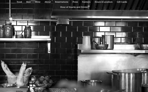 Screenshot of Home Page barleyswine.com - Barley Swine - captured Jan. 30, 2015
