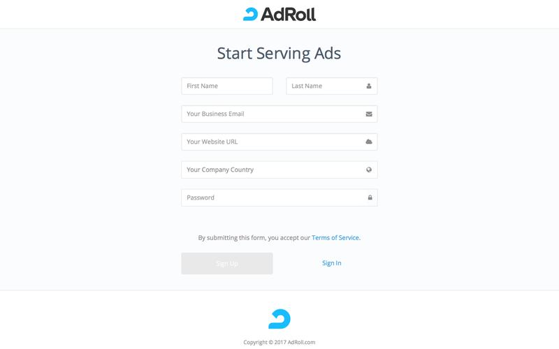 Welcome | AdRoll