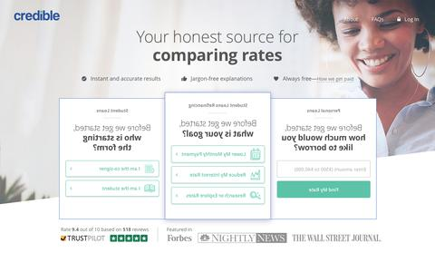 Credible® | Find the Best Loans | Easily Compare & Save