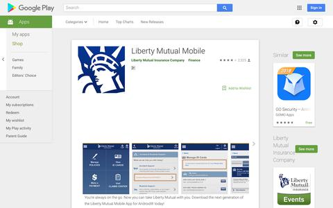 Liberty Mutual Mobile - Apps on Google Play