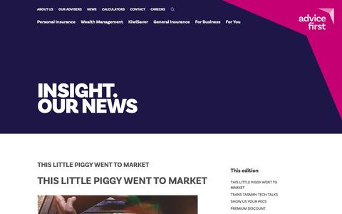 Screenshot of Press Page advicefirst.co.nz - September 2018 » AdviceFirst NZ - captured Sept. 29, 2018